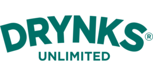 Drynks zero alcohol beer branded products
