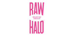 Raw Halo chocolate branded products